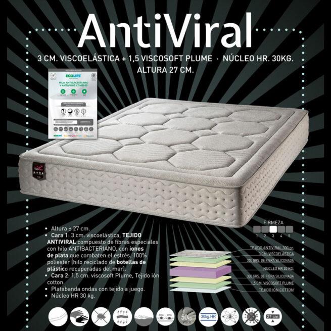 colchon antiviral